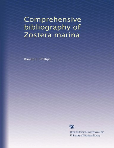 Comprehensive bibliography of Zostera marina