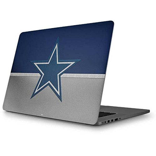 Skinit Decal Laptop Skin for MacBook Pro 15 (2012-15 Retina Display) - Officially Licensed NFL Dallas Cowboys Vintage Design