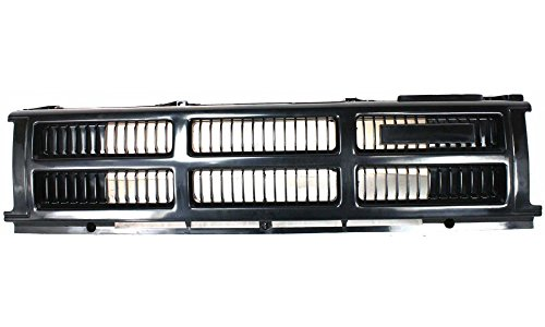 85 4wd Toyota Pickup (Evan-Fischer EVA17772010010 Grille for Toyota 4Runner 84-86 Center Plastic Primed 4WD Replaces Partslink# TO1200130)