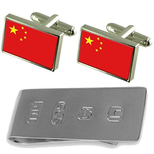 Money James Flag Clip James Bond China amp; China Cufflinks Bond amp; Cufflinks Flag PwTBTgq