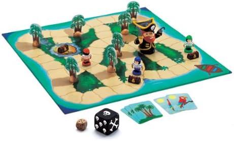Juego Big Pirate - Djeco: Amazon.es: Juguetes y juegos