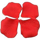 1000 piece Red Silk Rose Petals Artificial Flower Wedding Decor