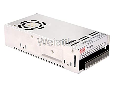Utini Mean Well Original QP-150-3B meanwell QP-150-3 150.2W Quad Output with PFC Function Power Supply Brand: New
