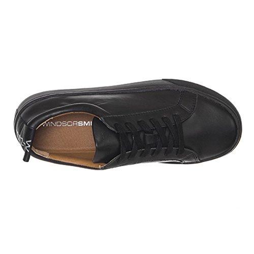 Pour Windsor Noir Femme Smith Baskets wqr1SwE