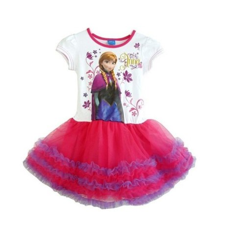 Frozen Girl Princess Elsa Dress