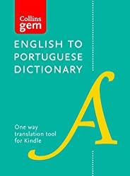 Collins English to Portuguese (One Way) Gem Dictionary: Trusted support for learning (Collins Gem)