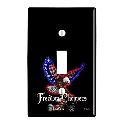 Graphics and More Freedom Choppers Motorcycle Patriotic, used for sale  Delivered anywhere in USA