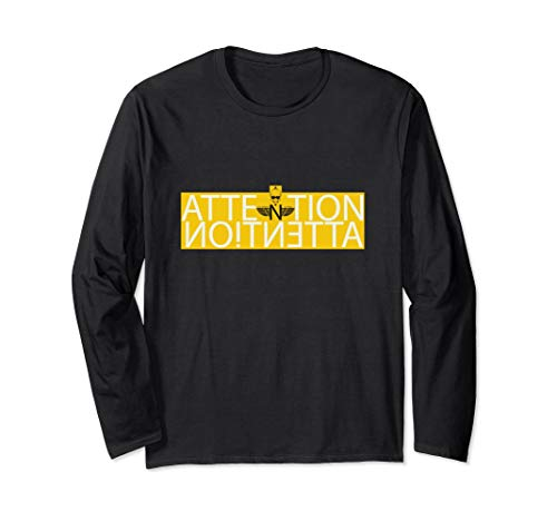 SHINEDOWN ATTENTION ATTENTION 2019 LYRICS T-SHIRT long sleev