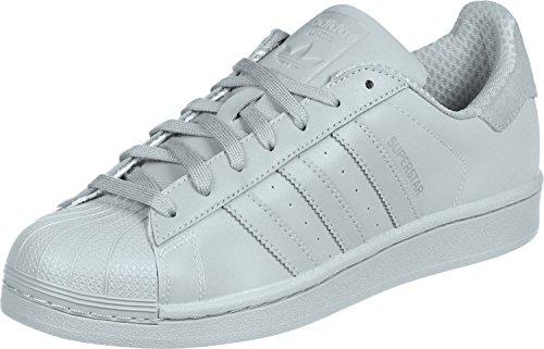 Adidas Mannen Superster Sneakers Grijs