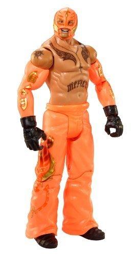 [WWE Rey Mysterio Jr - Summerslam Heritage Series - In Box Orange] (Wwe Bret Hart Costume)