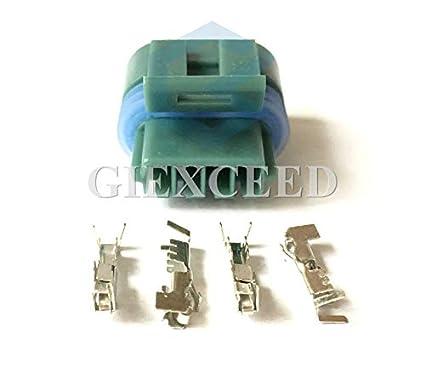Amazon.com: 5 Sets 4 Pin 12162833 12162834 Delphi Waterproof ...