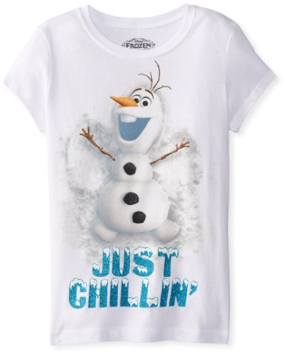 Disney Girls' Frozen Snow Angel T-Shirt