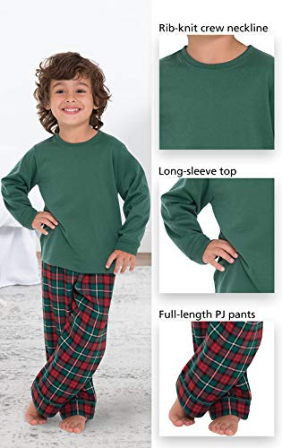 204d7adc2 Jual PajamaGram Toddlers  Flannel Classic Plaid Pajamas with Long ...