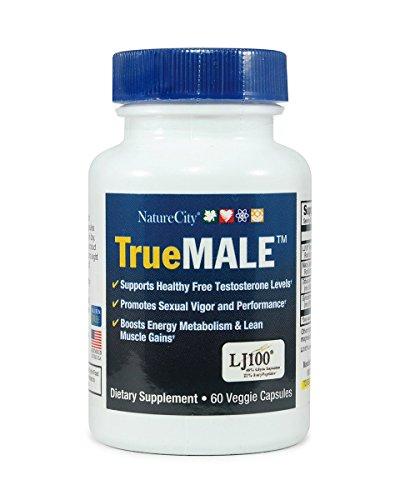 Male Health Support With Tongkat Ali LJ 100 -Maca -Tribulis terrestris - Gynostemma - 60 Capsules by NatureCity