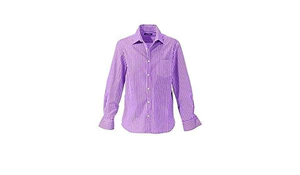 Camisa de John Devin en púrpura De rayas - lila, morado, XS ...