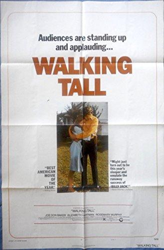 WALKING TALL MOVIE POSTER Buford Pusser Joe Don Baker Cult Film 1sht 1973
