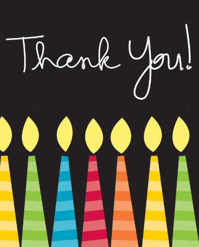 UPC 073525829326, Creative Converting 8 Count Thank You Cards, Great Birthday