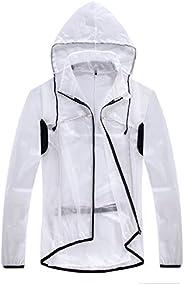 CYCEARTH Cycling Raincoat Jacket Hooded Rain Coat Outdoor Sportswear Windproof Rainproof Bike Bicycle Jackets