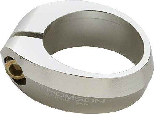 - Thomson Bicycle Seatpost Clamp (31.8mm, Silver)