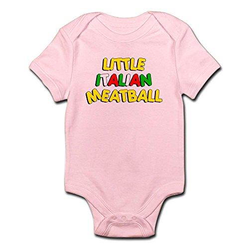 CafePress Little Italian Meatball Infant Bodysuit - Cute Infant Bodysuit Baby (Italian Meatball)