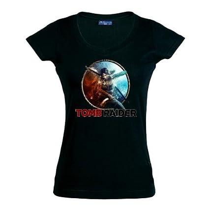 Mx Games Camiseta Tomb Raider para Chicas con diseño - Survival ...