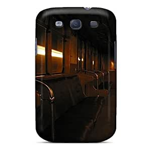 Galaxy S3 Case Bumper Tpu Skin Cover For Dark Subway Accessories