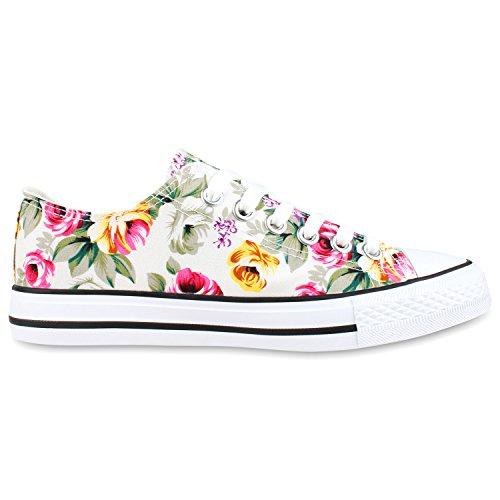 Best-botas para mujer zapatilla zapatillas zapatos de cordones estilo deportivo Weiss White Nuovo