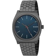 Nixon Men's 'Time Teller' Quartz Stainless Steel Watch, Color:Grey (Model: A0452340-00)