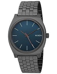 Nixon Men's 'Time Teller' Quartz Stainless Steel Watch, Color:Grey