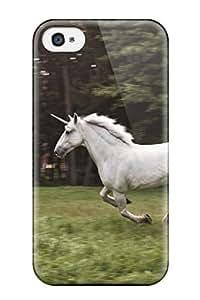TYH - Frank J. Underwood's Shop 1746232K530217999 unicorn horse magical animal Anime Pop Culture Hard Plastic iPhone 4/4s cases phone case