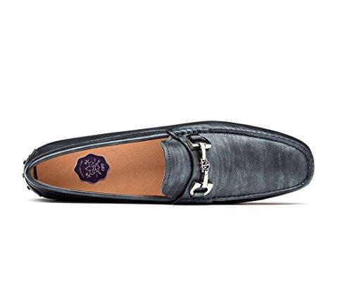 Opp Heren Casual Rijden Loafer Schoenen Instapper Metalen Decoratie