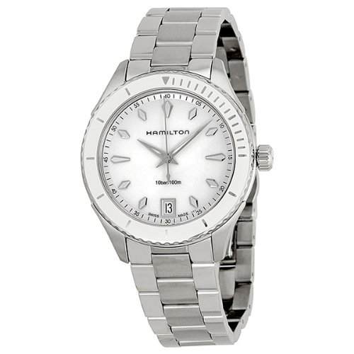 Hamilton Seaview White Dial Stainless Steel Ladies Watch H37411111