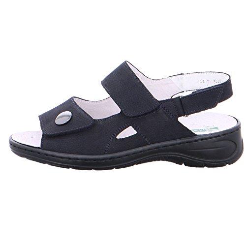 ara 56562-06 Korfu Navy Womens Sandals Dark Blue lrxuQpU
