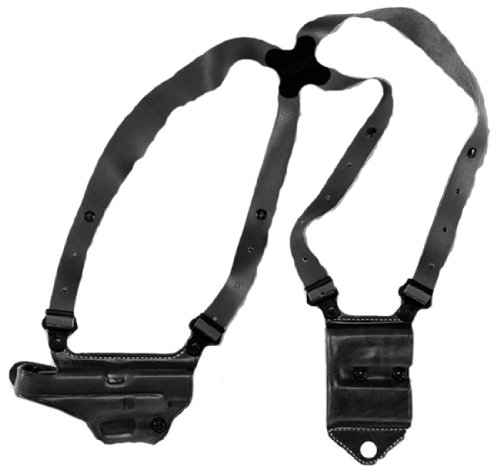 Galco Miami Classic II Shoulder System for H&K USP Compact 45 (Black, Right-hand)