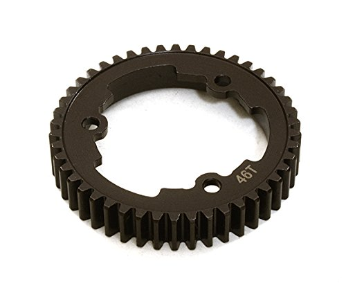 Integy Hobby RC Model C27077 Billet Machined Steel Spur Gear 46T for Traxxas X-Maxx (Gt Billet Oil)