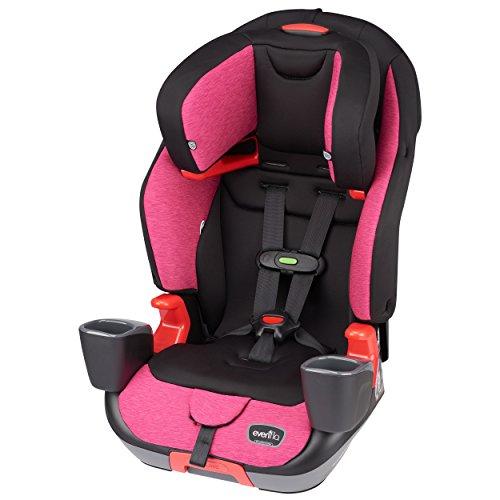 Evenflo Advanced Infant Booster Car Seat with SensorSafe, Evolve LX, Berry Bliss -  Evenflo -- Dropship, 34412020