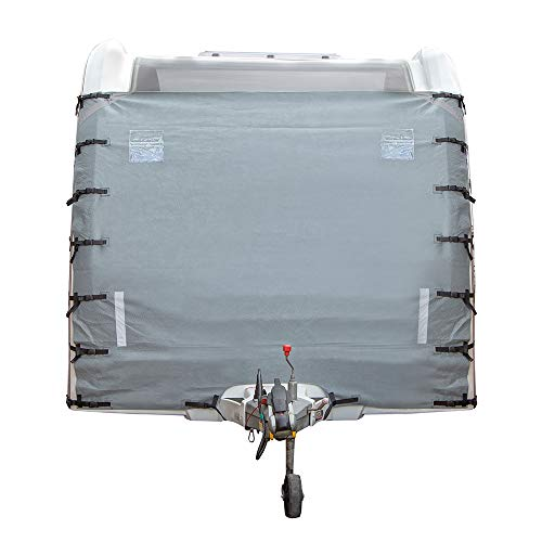 Wido CARAVAN WINDSCREEN PROTECTOR COVER FRONT TOWING UNIVERSAL PROTECTION GREY