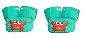Stearns Puddle Jumper Basic Life Jacket MGnxmq, 2 Pack (Blue Crab)