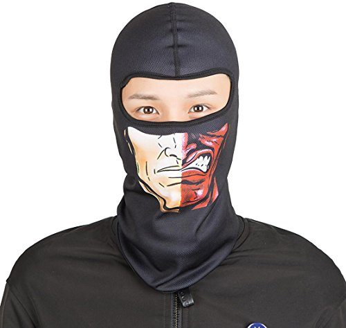 Price comparison product image OrrinSports Outdoor Face Mask Motorcycling Skiing Cycling Full Face Head Hood C