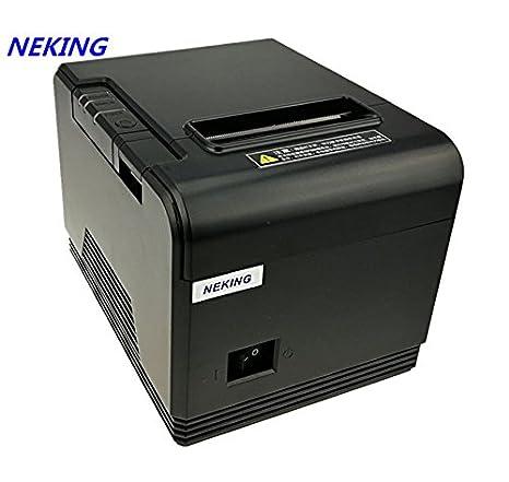 NEKING 80 mm recibo pequeño código de Barras POS Impresora ...