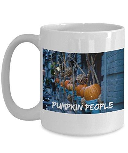 Halloween Coffee Cup Gourds Ghosts Goblins Pumpkins Autumn Fall Mug]()