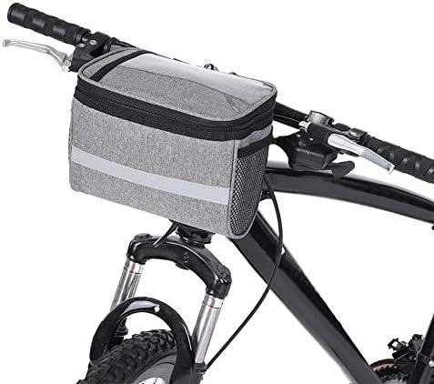 WolfGo 耐久性のある自転車自転車のフロントハンドル収納袋電話ポーチサイクリングアクセサリー