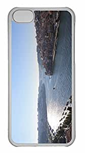 iPhone 5C Case, Personalized Custom The View Of Porto for iPhone 5C PC Clear Case
