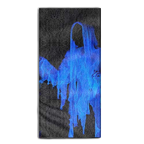 Hand Towels for Bathroom-Hotel-Spa-Kitchen Scary Halloween Ghost Hair Towel Highly Absorbent 11.8 × 27.5
