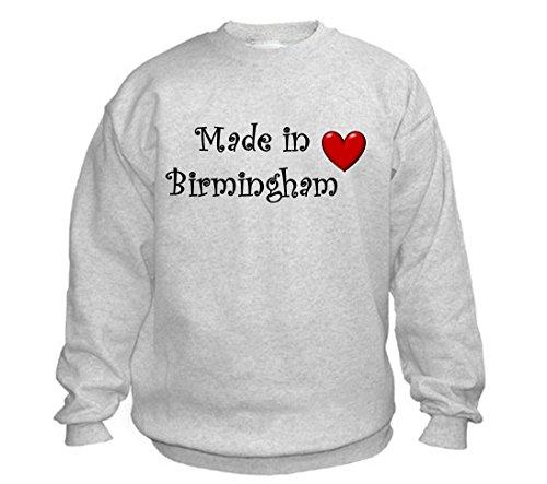 MADE IN BIRMINGHAM - City-series - Light Grey Sweatshirt - size XXL
