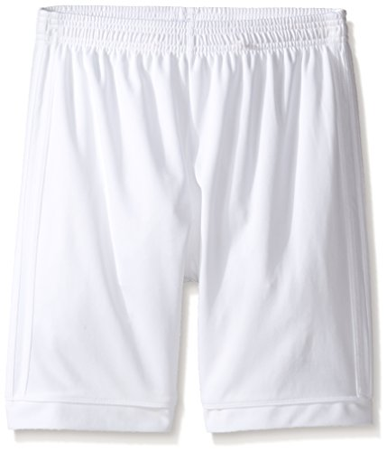 Adidas Youth Basketball Short - adidas Youth Soccer Squadra 17 Shorts, White/White, Medium