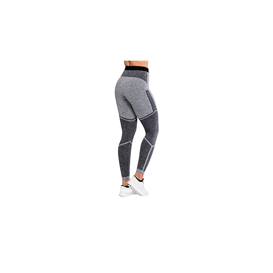 kingfansion Women's Yoga Pants Sports Gym Workout Waist Running Trousers Fitness Stretch Leggings Fitness Riding
