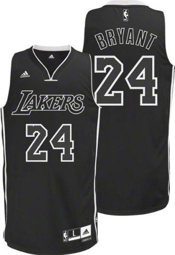 timeless design d9486 213bf Buy NBA Men's Los Angeles Lakers Kobe Bryant Black-Black ...