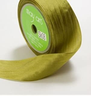 NEW COLOURS sold by the metre May Arts 100/% Pure Silk 32mm Ribbon
