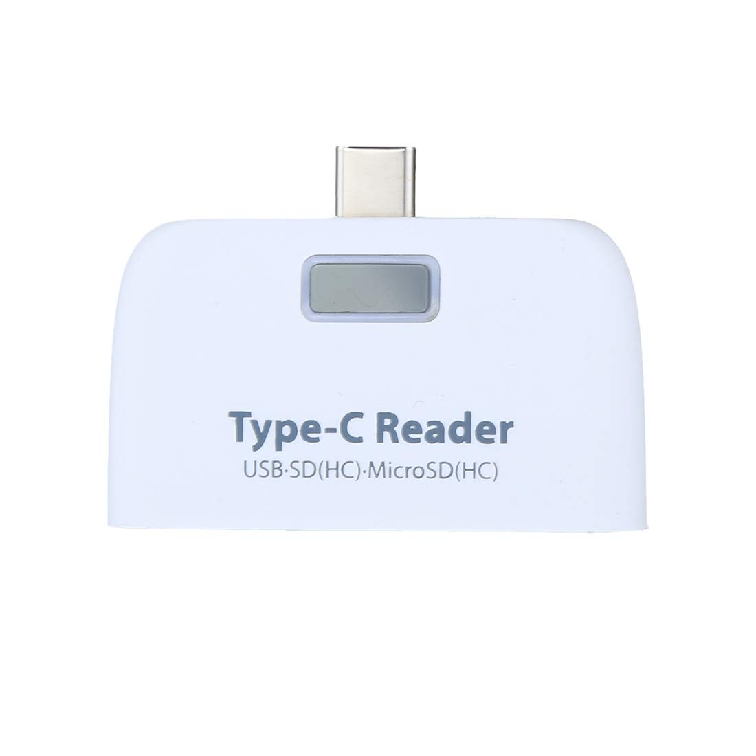 Car Reader WHF for Type-C Smartphones /& PC Computer Color : Silver